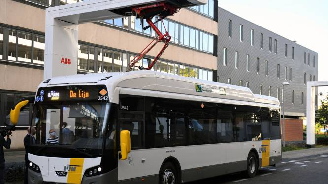 Eerste volledig elektrische bussen van Vlaanderen rijden vanaf nu rond in Leuven