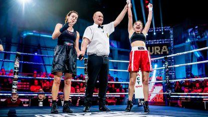 Bloedneus houdt Laura Tesoro niet tegen in 'Boxing Stars' (+ wat je niet zag op tv)