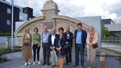 Gerestaureerde portiek 'Isabey' herinnert aan Lokers textielverleden