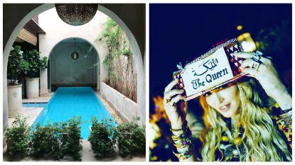 Je wordt maar één keer 60: in dit luxueuze Marokkaanse paleis vierde Madonna vijf dagen lang haar verjaardag