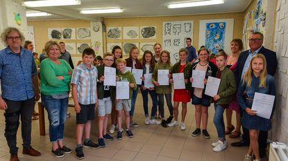 Attesten voor leerlingen tekenacademie