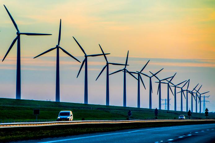 Een windpark