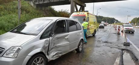 Automobilist gewond bij ongeluk op N269