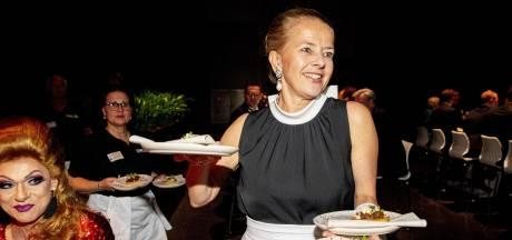 Prinses Mabel serveert bijzonder diner en haalt 7 ton op