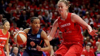 Beste speelster van WNBA-finals, maar salaris van Meesseman is habbekrats tegenover dat van NBA-sterren