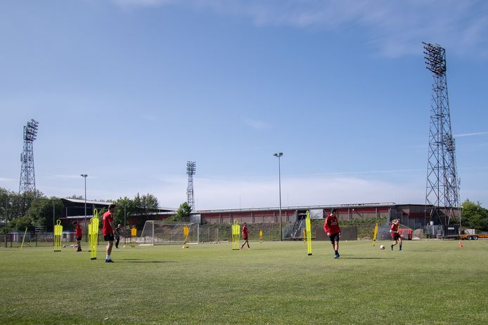 Training Go Ahead Eagles.