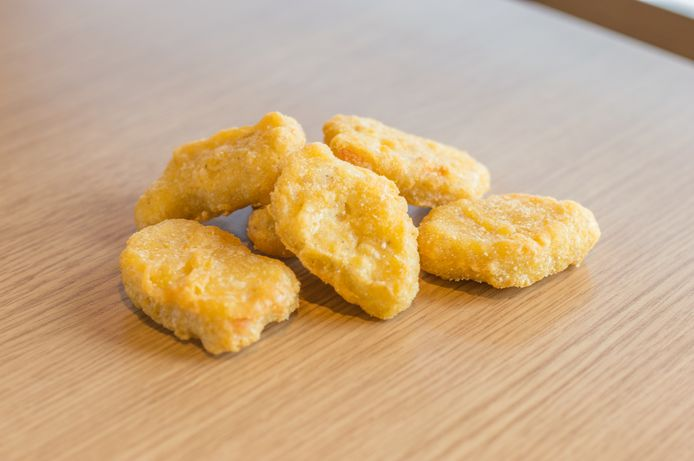 Kipnuggets, hier in betere tijden.