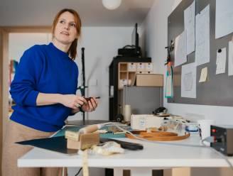 """Elise Verdegem lanceert eigen label: """"Ik vertel verhalen met leder"""""""