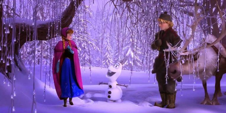 Beeld uit Frozen. Beeld