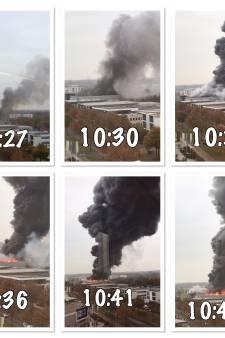Brandweerman Jorn zag op zijn werk hoe snel de brand bij Karwei zich ontwikkelde (daarna ging zijn pieper)