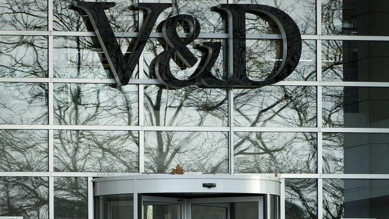 De FNV roept het grootste pensioenfonds van het land op de beleggingen in de Amerikaanse eigenaar van V&D terug te trekken. Beeld null