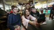 Jonge vloggers in de leer bij Céline en Talisa