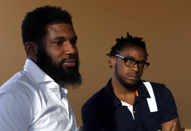 Rashon Nelson en Donte Robinson werden opgepakt in een Starbucks in Philadelphia.