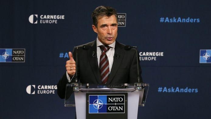 Le secrétaire général de l'OTAN Anders Fogh Rasmussen
