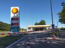 Tankstation waar motorrijder uit Huissen binnenreed nog dicht