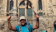 """Ex-burgemeester Bart Halewyck bereikt na 100 dagen Compostella: """"Vermagerd? Mijn broek zakt van mijn gat!"""""""