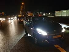 File op A12 bij Duiven door kop-staartaanrijding met vier auto's