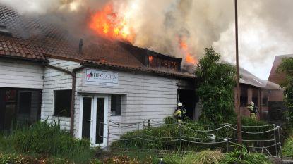 Saunacomplex De Clou in Ekeren volledig uitgebrand