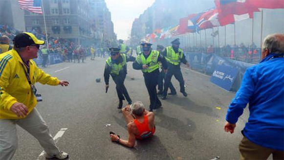 Bij de aanslag van Boston vielen vijf doden en 176 gewonden.