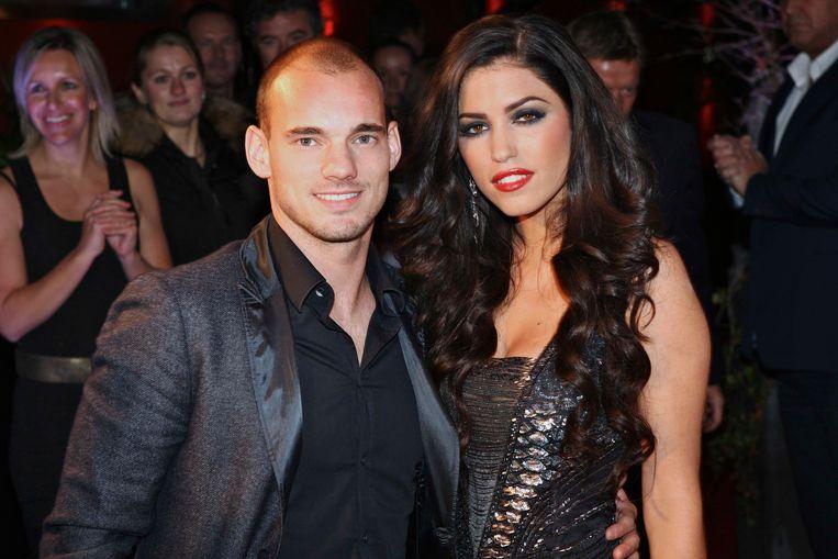 Wesley Sneijder heeft op Instagram gereageerd op zijn breuk met zijn vrouw Yolanthe Sneijder-Cabau