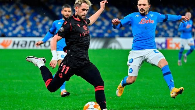 Beide teams tevreden met gelijkspel: Napoli kroont zich tot groepswinnaar, ook Real Sociedad stoot door