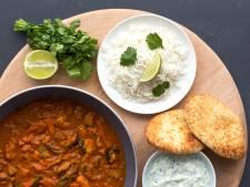 Wat Eten We Vandaag: Tikka masala met raïta