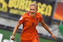 Vivianne Miedema is blij dat de aandacht bij Oranje nu is verdeeld.