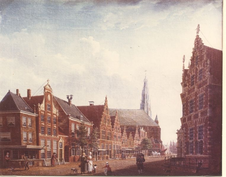 Izaak Ouwater: Nieuwstraat in Hoorn (1784) Beeld anp