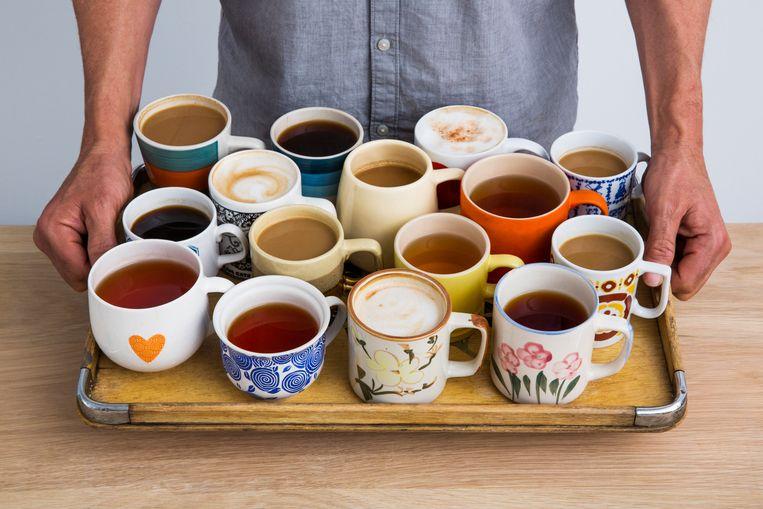 Koffie en thee voor mensen met een psychische aandoening. Het Lichthuis wil het gevoel van een huiskamer geven. Beeld Getty
