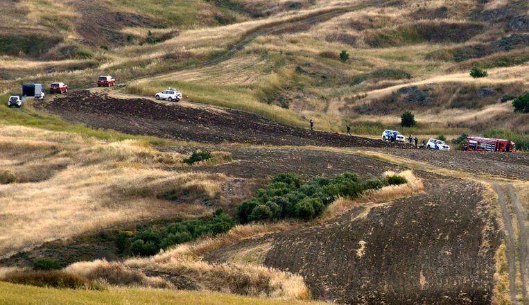 Gisteren werd een derde lichaam teruggevonden op een schietbaan op zo'n 14 kilometer van de plek waar eerder al twee lijken werden aangetroffen.