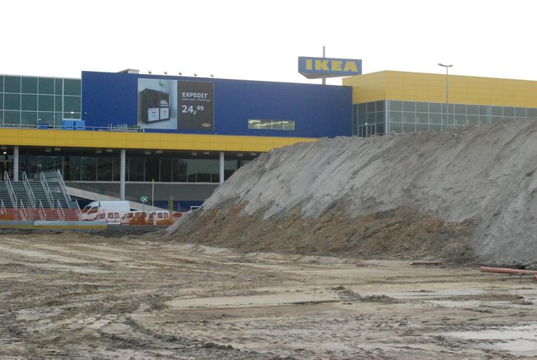 Enkele jaren geleden waren er nog archeologische opgravingen bezig op de site waar het Design Outlet Center zou komen.