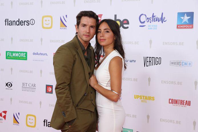 Matteo en zijn vriendin Loredana.