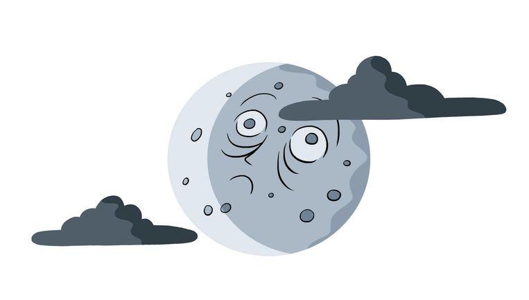 'Mensen doen er inderdaad langer over om in slaap te komen bij volle maan' Beeld Nanne Meulendijks
