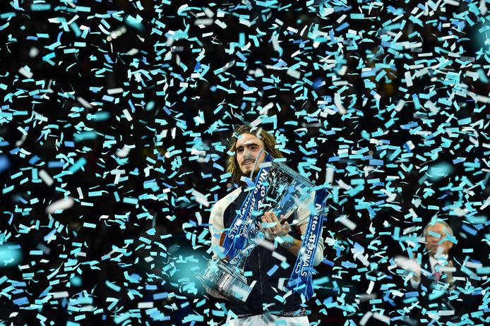 Vainqueur de Dominic Thiem en finale du Masters, Stefanos Tsitsipas a remporté, à Londres, le plus beau titre de sa jeune carrière.