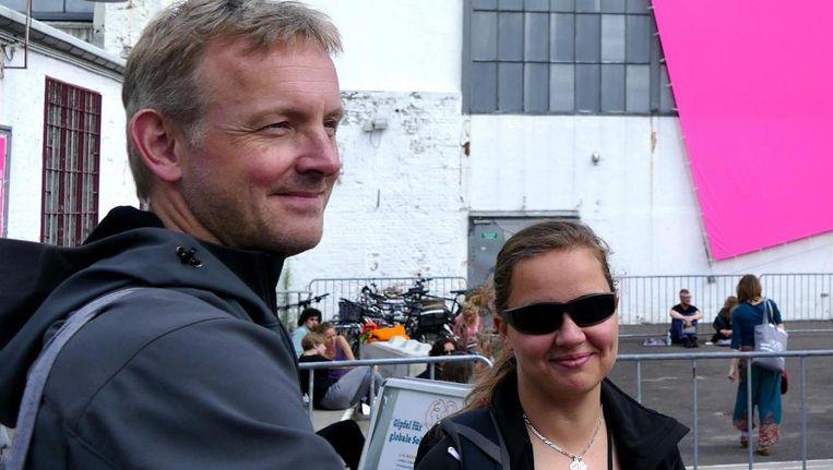 Omgekomen motorrijders Ronald Dooper en Selena Jans. Beeld Privecollectie