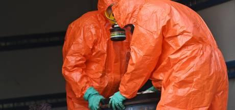 Wéér drugsafval gedumpt in West-Brabant, dit keer in achtergelaten vrachtwagen in Ulvenhout