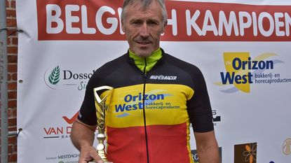Eddy wint bakkersrace in categorie 50-plus