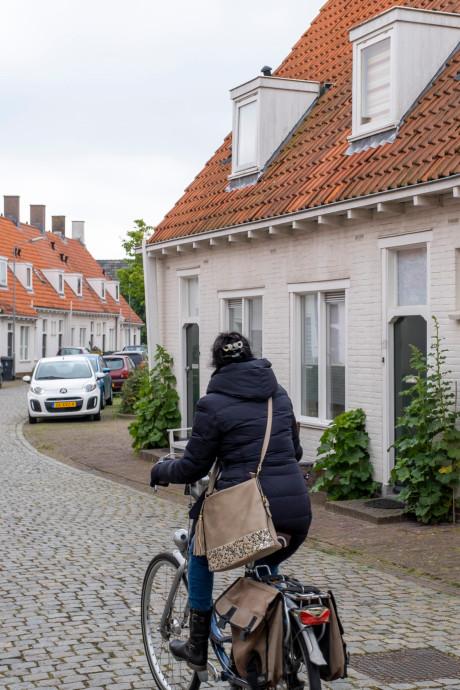 De meeste van de karakteristieke Briët-huizen in Middelburg worden gesloopt