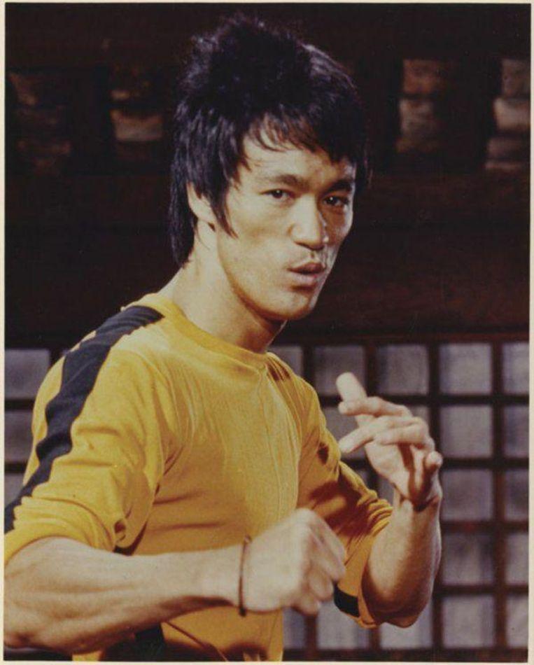 Bruce Lee in Game of Death Beeld