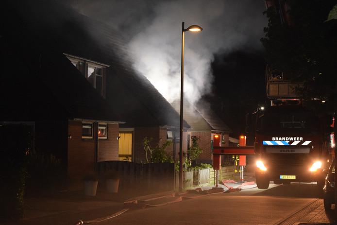 Bij de brand aan de Papaverstraat kwam een 58-jarige Doetinchemse om het leven.