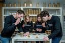 Michiel Vos, Roos Kaag, Desiree Nieuwenhuijse en Job Wijker.