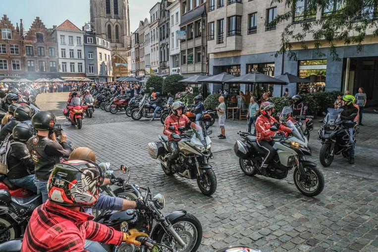 Er daagden 134 bikers op.