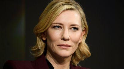 Cate Blanchett 'wist niets' over controverse Woody Allen