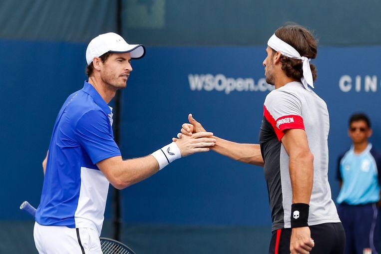 Andy Murray en Feliciano Lopez.
