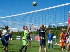Volleyballen op de Voetbal Experience