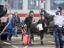 Controle internationale trein afgelopen, politie vreesde voor explosieven