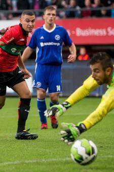 NEC wint bij rentree in eerste divisie