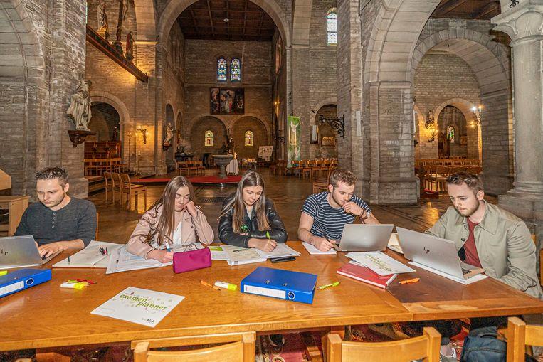 Sint-Martenkerk omwille van hitte opengesteld