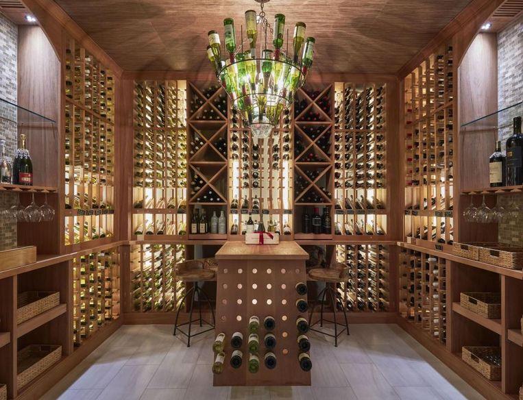 Wijnkelder.