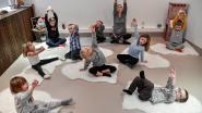 Fladderen, zweven en yoga tijdens eerste kamp bij Studio Pluim
